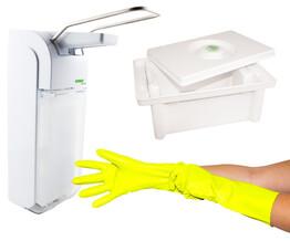 Desinfektions- und Reinigungszubehör