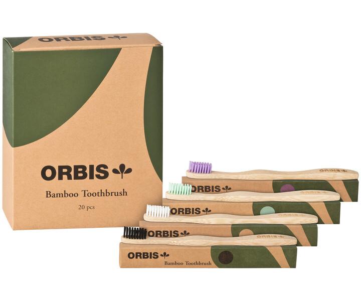 ORBIS-Green Bambuszahnbürste