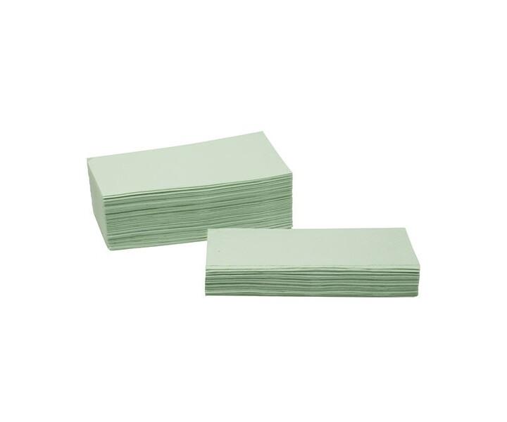 Einmalhandtücher, grün